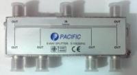 Bộ chia truyền hình Pacific 6 đường - 5-1000MHz