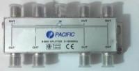 Bộ chia truyền hình Pacific 8 đường - 5-1000MHz